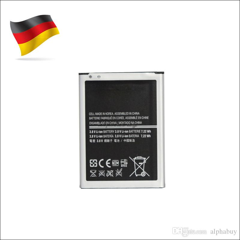 Germany Stock For Samsung Galaxy S4 mini i9190 i9192 OEM Battery B500AE 1900mah Replacement akku dhl ddp