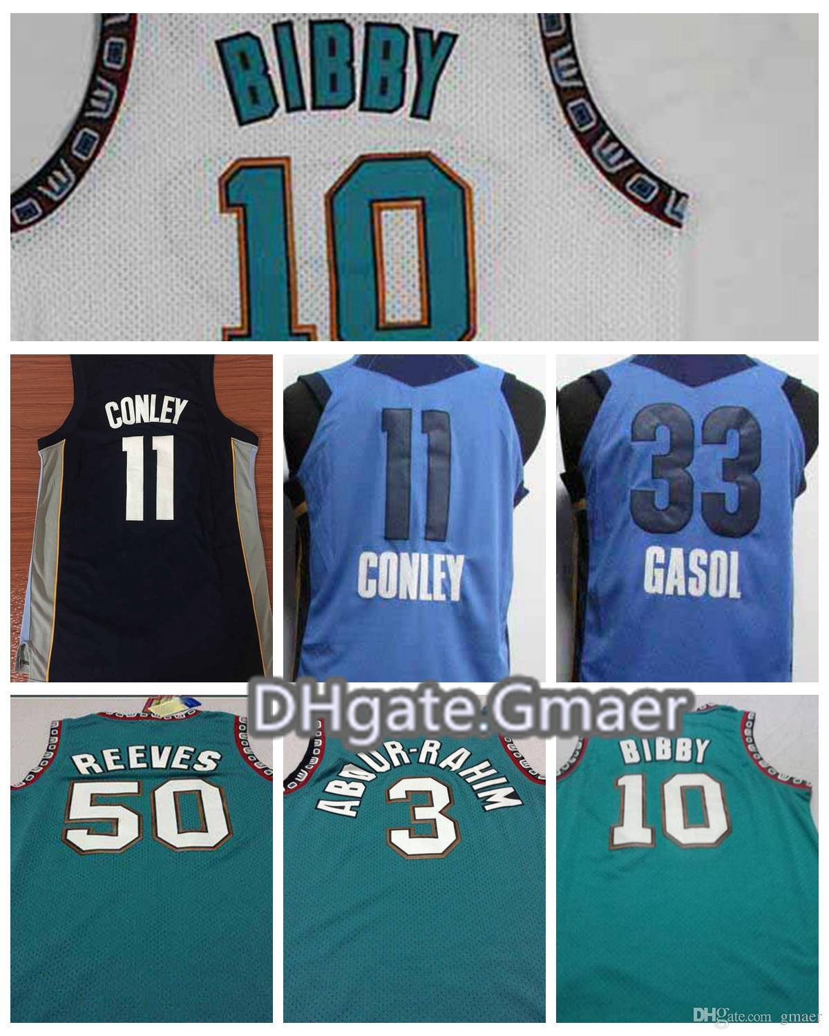 2e9d4eb6bbe ... canada 2018 2018 men basketball jerseys 11 mike conley 33 marc gasol 10  mike bibby 50