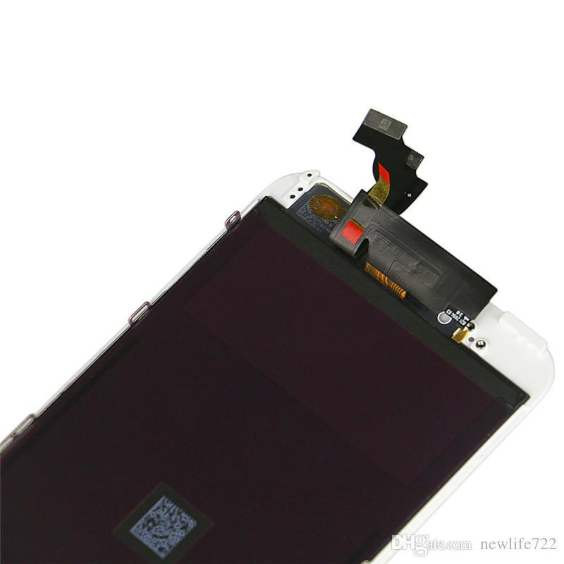 Iphone 6 Iphone 6 plus LCD No Dead Pixel Touch Screen Digitizer Display Assembly con telaio parti di riparazione dello schermo del cellulare