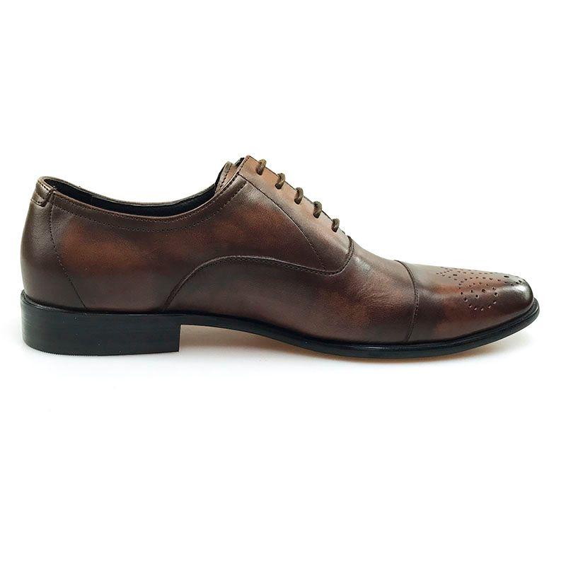 GRIMENTIN Men Oxford Shoes Genuine Leather British Style Classic Vintage Formal Business Wedding Male Shoes Hot Sale Mens Dress Shoes JM