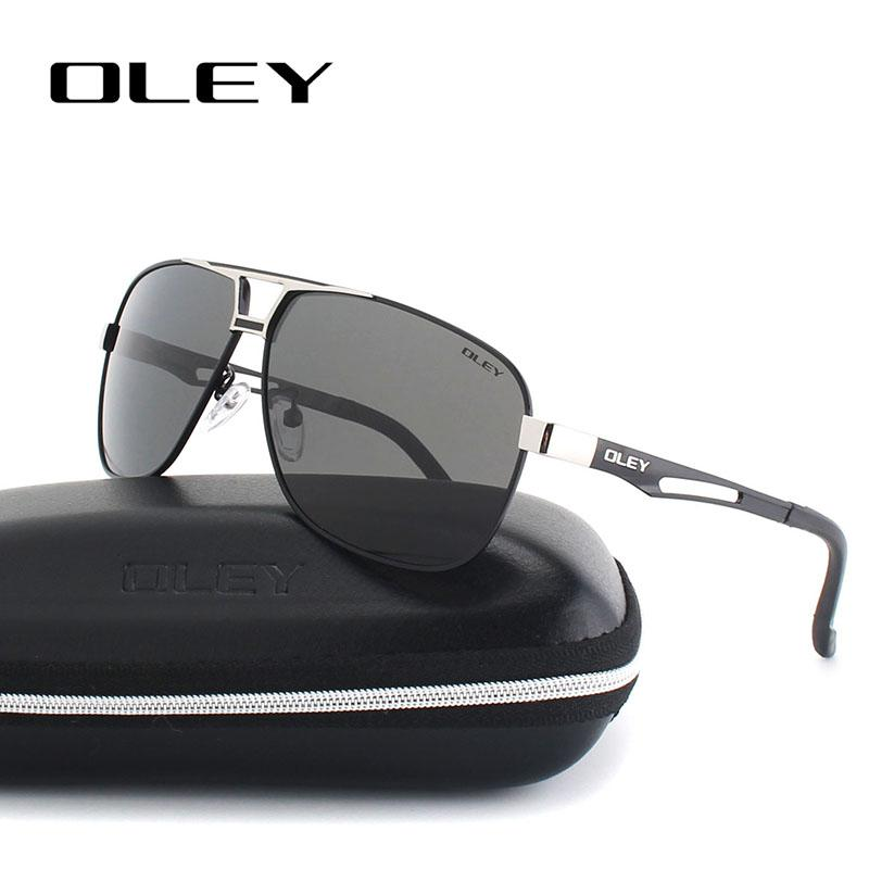 Oley Classic Polarized Sunglasses For Men Aluminum Magnesium Frame ...