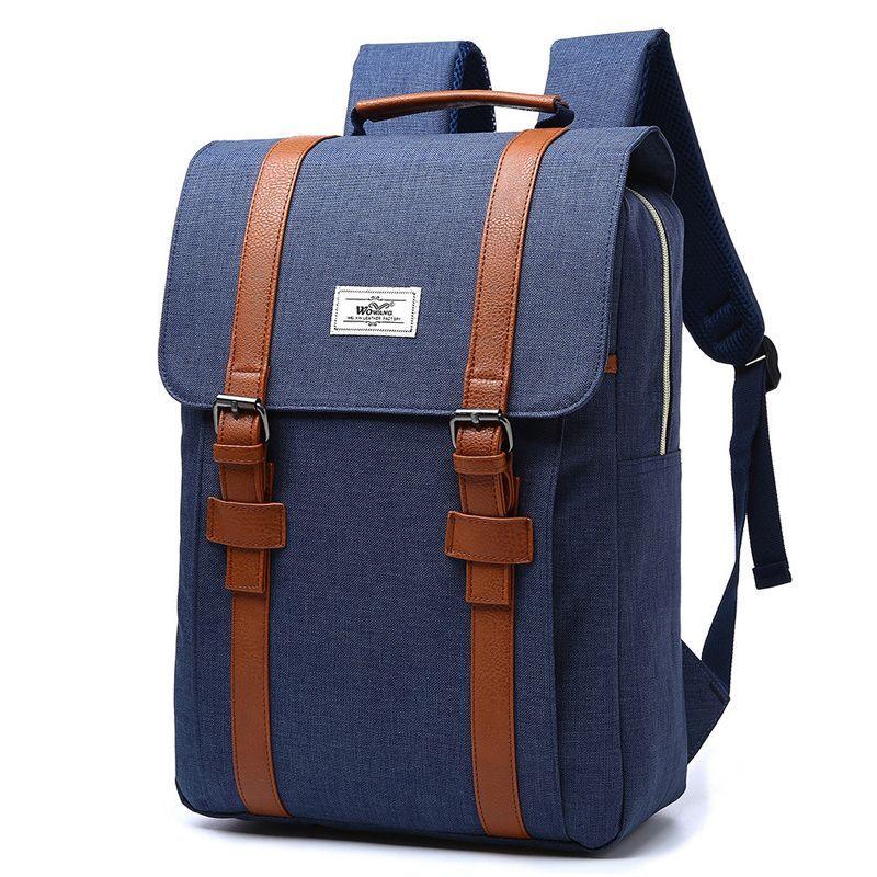 764b979c72 Retro Hot Nylon Man Backpack Female University School Student Backpack  Casual Backpacks Travel Bag Laptop Women Bags Herschel Backpacks Best  Backpacks From ...