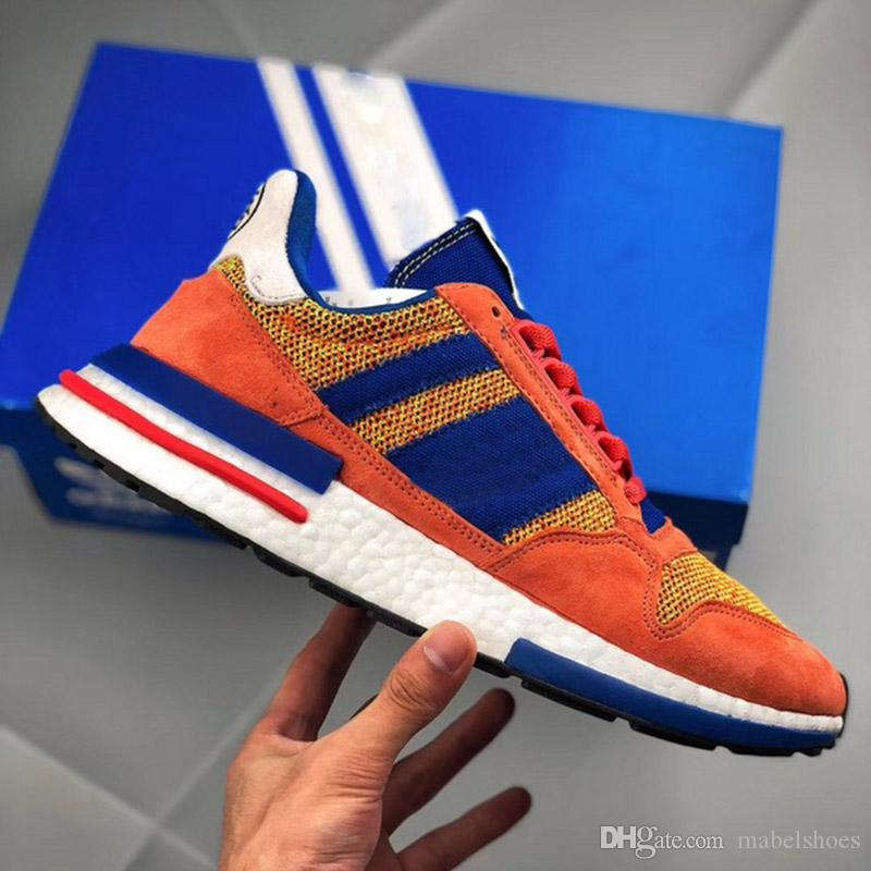 9844539bd222 New Released Dragon Ball Z X ZX 500 Goku Run Shoe Classic Designer Fashion  Limited Edition TOP Quality Sport Shoes Skechers Running Shoes Best Trail  Running ...