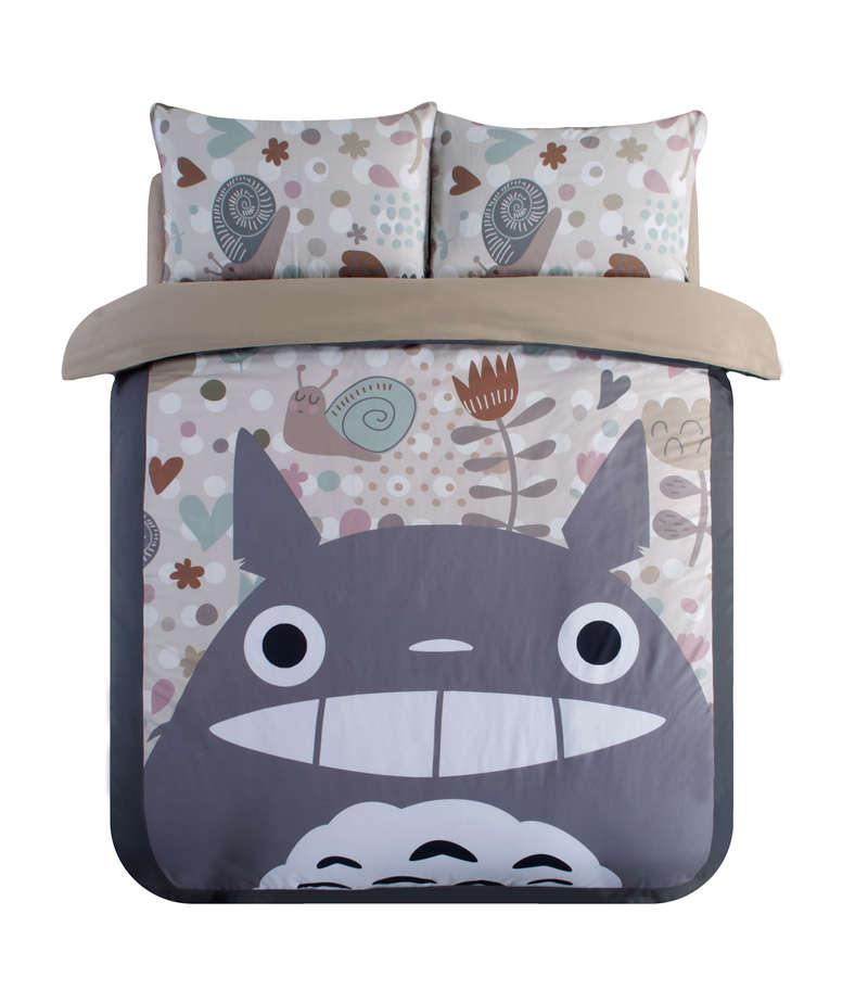 Wholesale My Neighbor Totoro Print Bedding Set For Children s Home Decor  Twin Full Queen King Size Bedspread Bed Linen Duvet Covers Sheets Bedroom  ... 6bb8c50d2