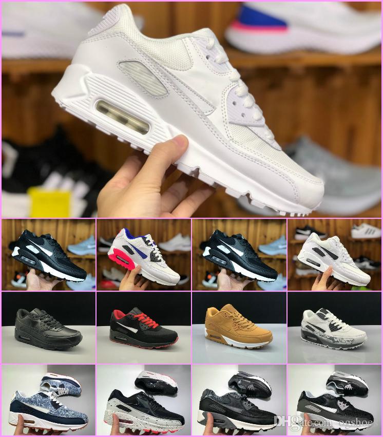 84b505f5468d Air BW Run 90 Men Running Shoes 270 Top Quality Tn Breathable Mesh ...