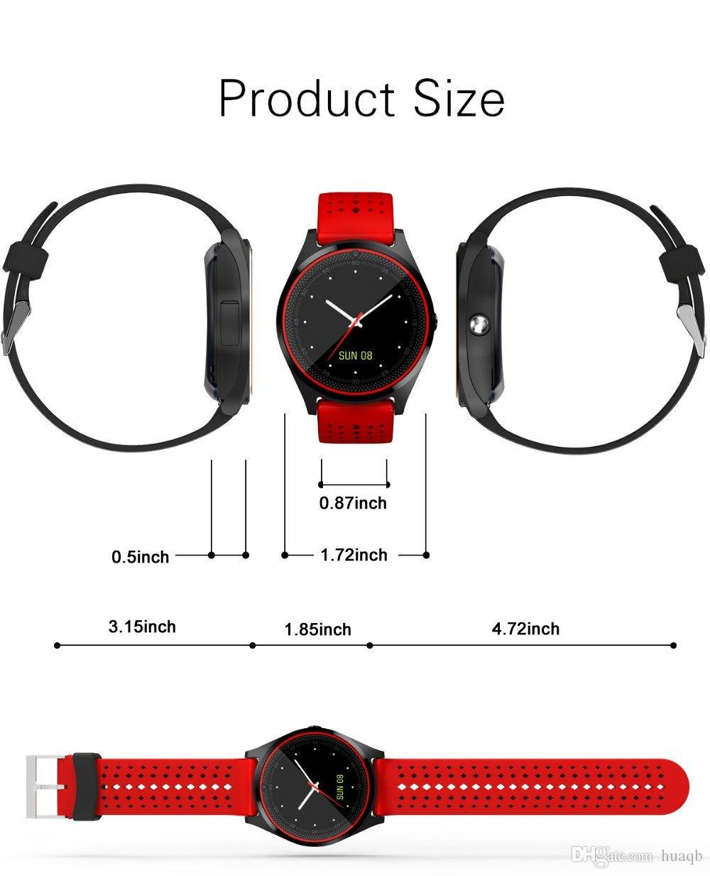 V9 smartwatch android V8 DZ09 U8 samsung smart watches SIM Intelligent mobile phone watch can record the sleep state Smart watch Retail