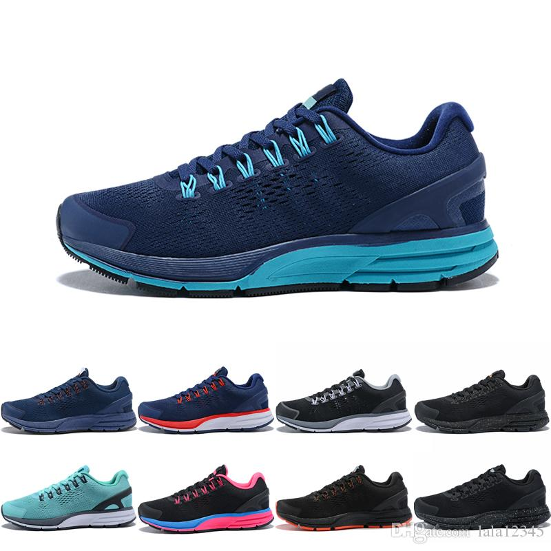 2018 New RUN Sports Lunar 4 Men Women Running Shoes Knitting Dark Blue Sneakers Fashion Trainers Shoes Athletic Casual Shoes Eur 36-45 discount the cheapest fake cheap price outlet tumblr buy cheap for sale 1UrV7diHFM