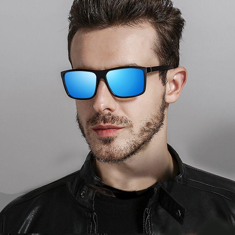 6132e4e3bc74f6 2018 Square Polarized Sunglasses Men HD Driving UV400 High Quality Mirror  Sun Glasses Retro Lunette De Soleil Homme Online with  14.38 Piece on ...