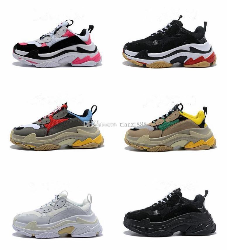 Da Acquista 17fw S Scarpe Invernali Sneakers Triple Corsa Autunnali TSzngqrTw