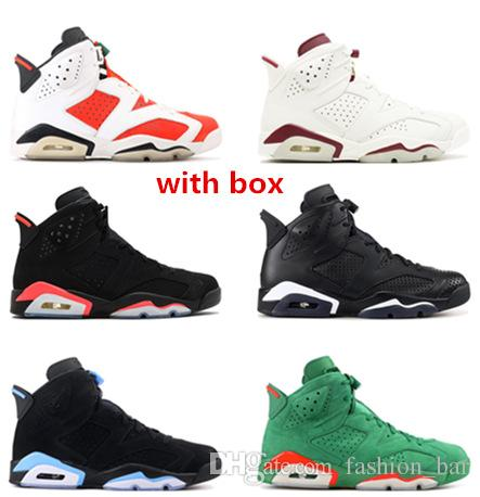 40c79e56959e5f Maroon 6s Gatorade Unc Infrared Black Cat Basketball Shoes Man Sneaker  Shoes Best Quality With Box Discount Shoes Online Latest Shoes From  Fashion bar