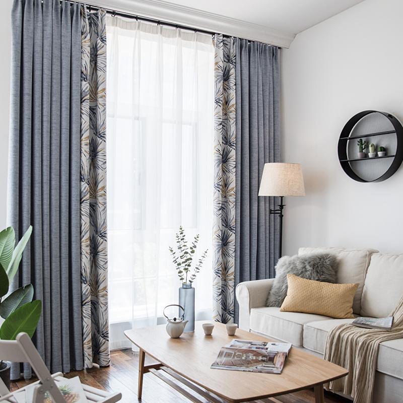 Acheter Rideau Fini Simple Moderne Chambre Salon Fraîche Abat Jour ...
