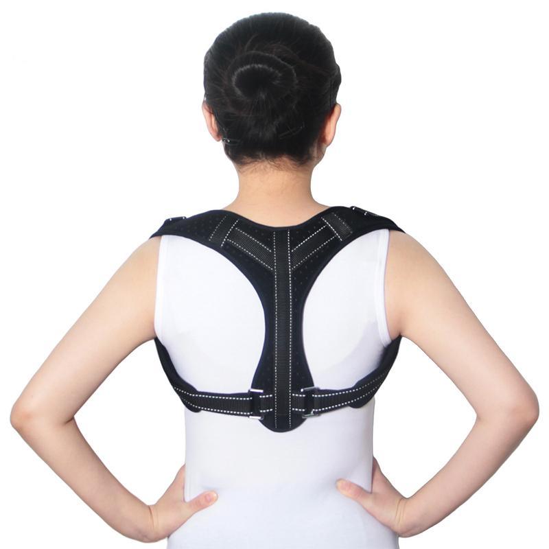 4f18f4854f4 Men Women Back Hump Corset Body Shaping Orthotics Belt Back Braces Support  Back Correction Belt Posture Correcting Band Shaping Shoulder Brace Back  Brace ...