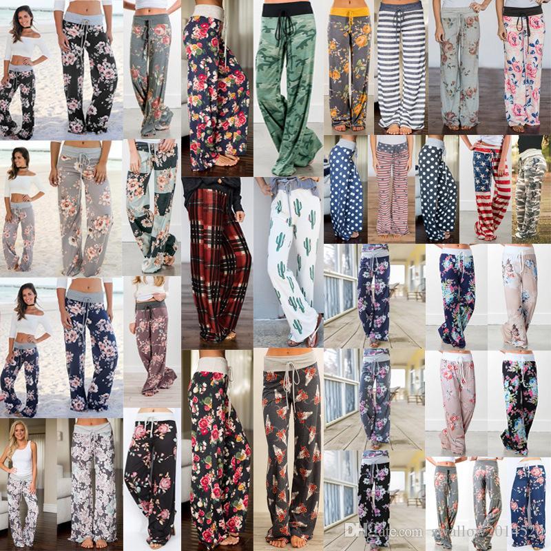 Großhandel 32 Farben Yoga Eignung Breite Bein Hosen Frauen Beiläufige Sport  Hosen Art Und Weiseharem Hosen Palazzo Capris Dame Hose Loose Long Pants  Von ... f72712e832