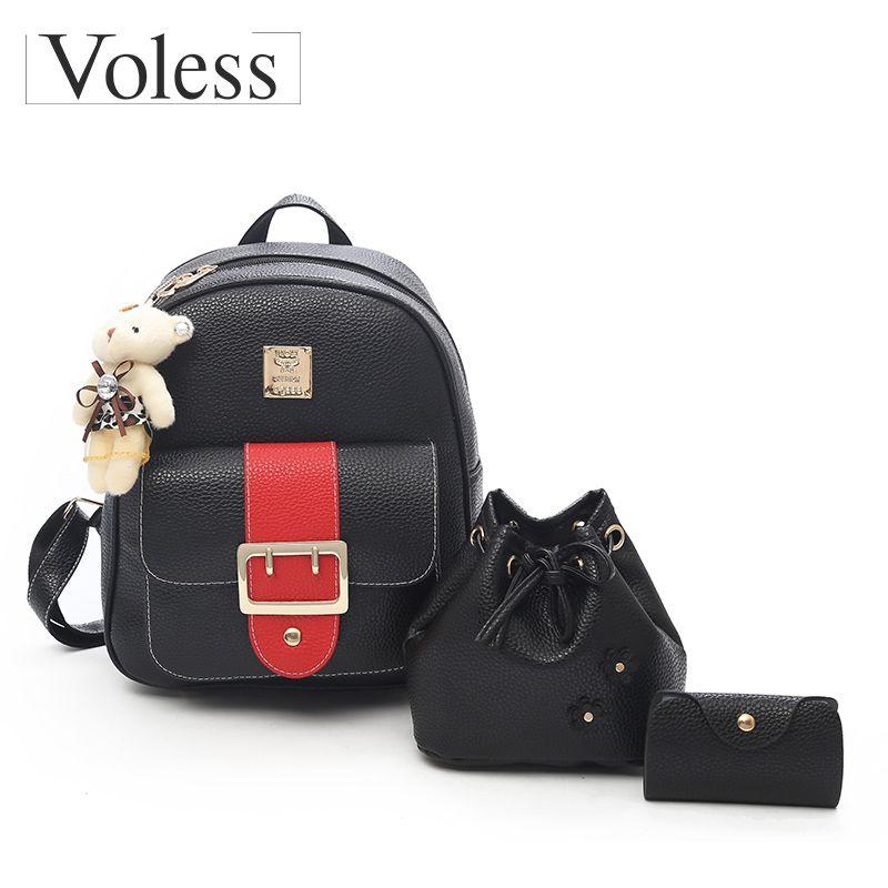 Cheap School Girl Satchel Backpack Rucksack Best Cute Teenage Girl Backpacks be1701d07fb46