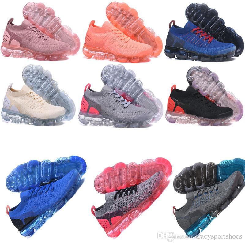 half off c59c0 14d76 Compre Zapato Para Correr Para Mujer 2018 2 Zapato Para Correr Para Hombre  Más Nuevo Para Hombre Talla 12 Negro Blanco Gris Oscuro Zapatilla De  Deporte 6.5 ...