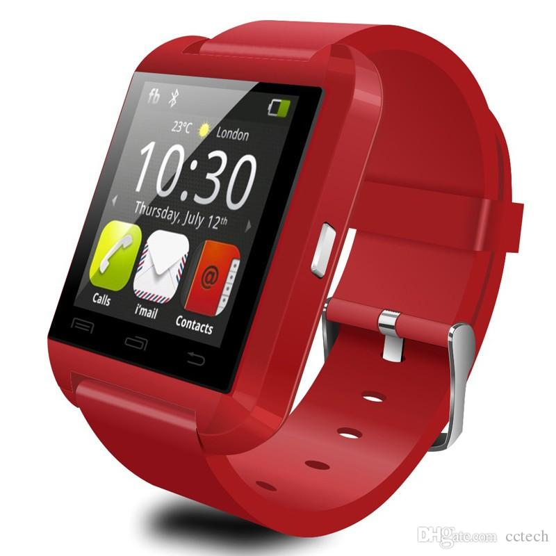 U8 Smart Watch Clock Sync Notifier Support Bluetooth Connectivity For Android Phone Men Women Children Smartwatch PK GT08 DZ09 V8 U80
