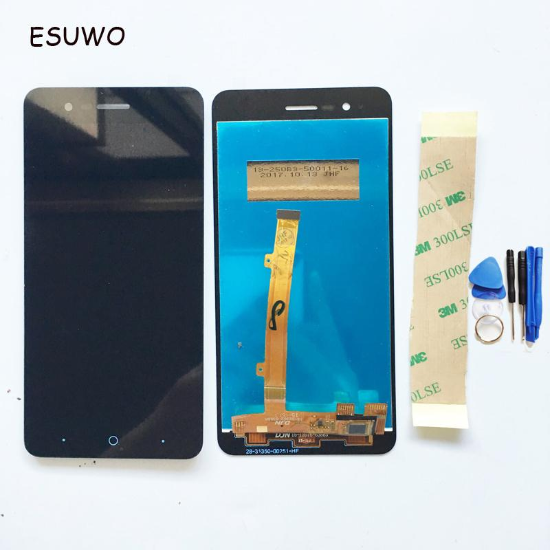 Display LCD ESUWO con touch screen per ZTE Blade A510 LCD Digitizer Assembly Colore nero