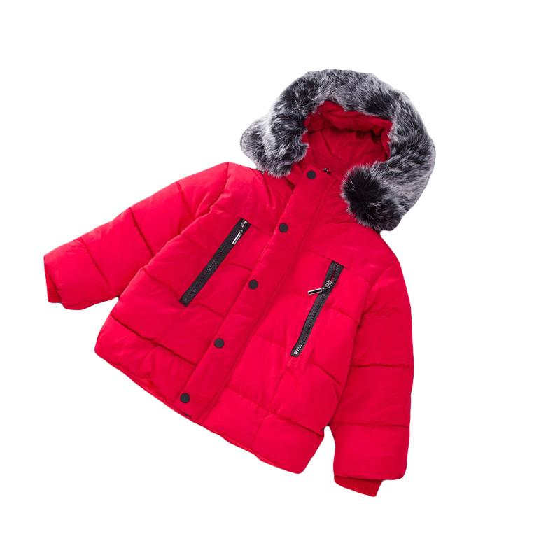 86d85d675 2018 Baby Boys Girls Winter Jacket Thickened Outwear Warm Infant ...