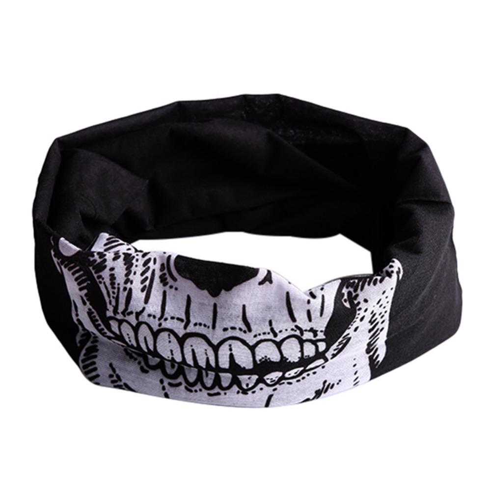 8b4ccd51228 2019 Punk New 3 In1 Men Women Unisex Skull Hat Neck Tube Snood New Face  Mask Cap Bonnet Scarf Beanie Biker Balaclava Halloween W1 From Yiquanwater