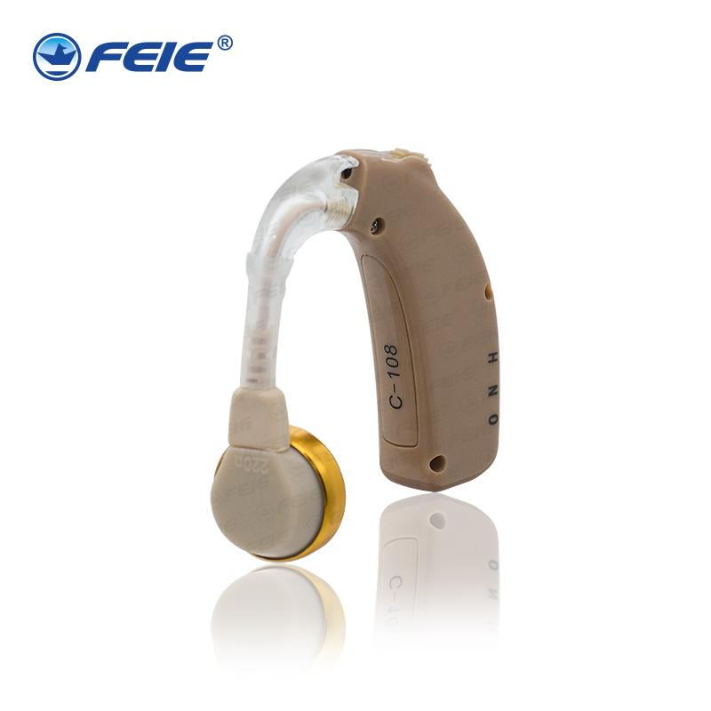 Hot Promotion!Rechargeable Hearing Aid Rehabilitation digital Ear Care Digital Hearing Aide Listening Device C-108