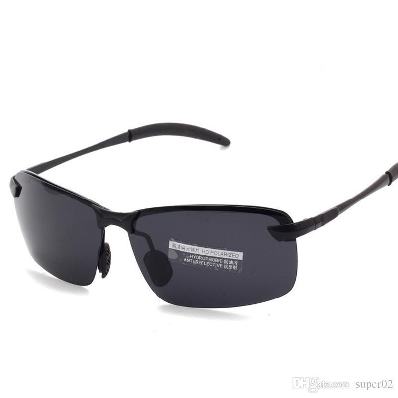 b905e64705297 Compre Óculos De Visão Noturna Polaroid Óculos De Sol Dos Homens Da Marca  Óculos Polarizados Oculos Gafas Lunette De Sol Soleil Masculino Masculino  De ...
