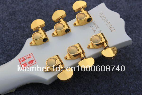 Wholesale customized DIY electric guitar lp model considerate colour makeup of EMS