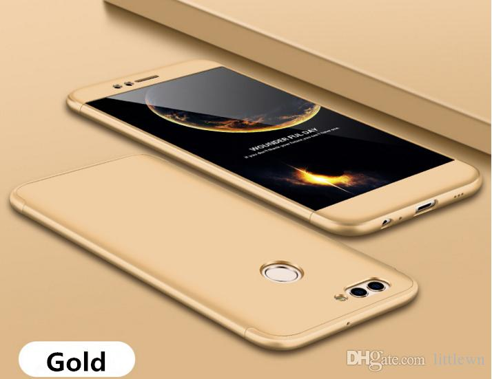 Huawei Honor 6X Cassa Del Telefono Cellulare 3-In-1 360 Gradi Antiurto Armatura Copertura Posteriore Dura Smart Huawei Honor 6X