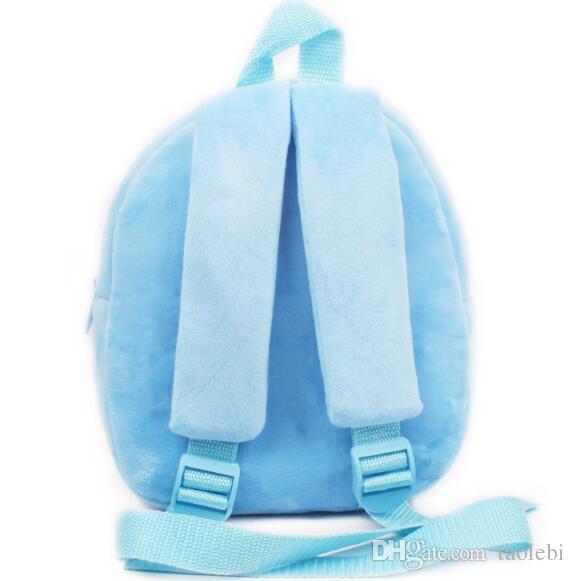 Высочайшее качество мультфильм ребенок ребенок девочки школьная сумка милая плюшевая школьная сумка малыша рюкзаки лучший подарок для ребенка