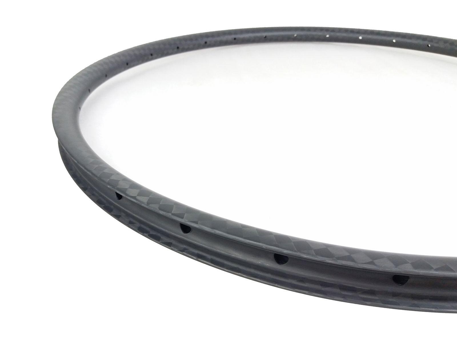 29er MTB XC 30mm hookless asymmetric carbon rim clincher tubeless 22mm deep UD 3K matte glossy 24 28 32 Holes 29in mountain bike
