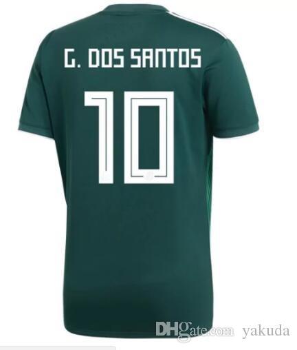 19a3953e1 2019 Discount Cheap Customized 17 18 10 G.DOS SANTOS Thai Quality Soccer  Jerseys
