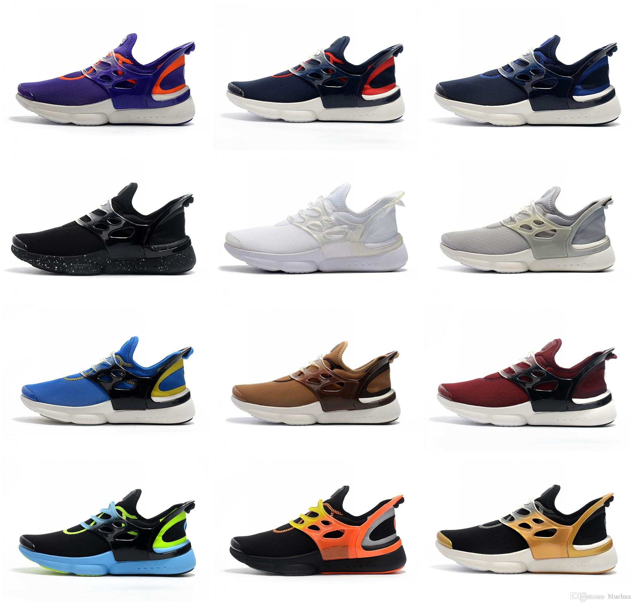 b631d6b8642 2019 2018 New Running Shoes Presto Faze Hypergate GS 6 VI Outdoor Snearkers Mens  Shoes Free Shopping Black White Blue Sports Shoes From Bluehua