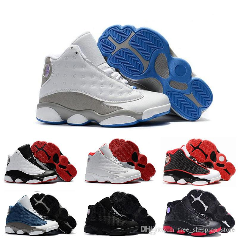 new concept a1d8d bd1dc Cheap Kids 13 13s Basketball Shoes Chicago He Got Game Bred Altitude DMP  Boys Girls Sneakers Children Baby Sports Shoes Size 11C 3Y Kd Basketball  Shoes ...