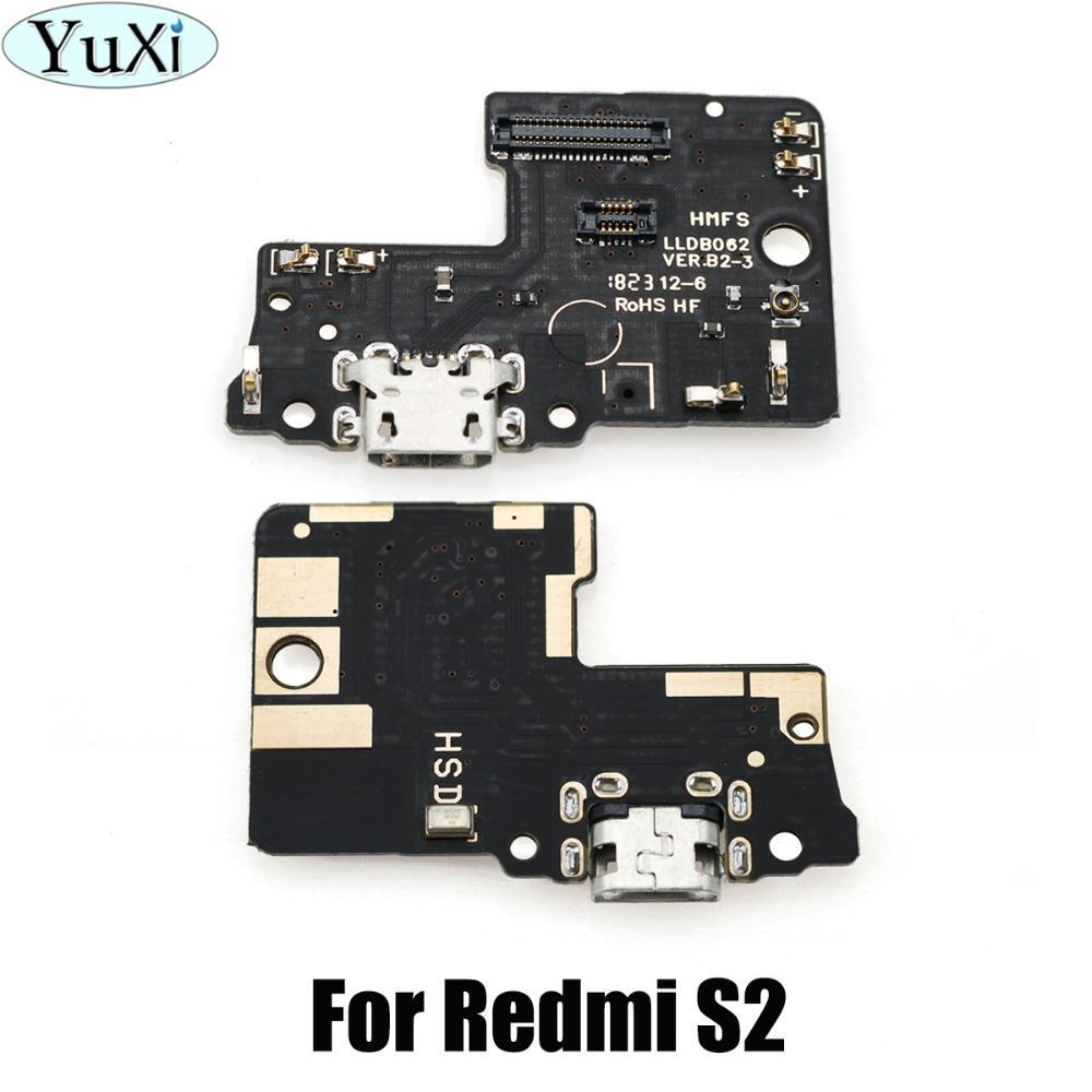 f6ec51f9a69 Accesorios De Telefonia Movil YuXi 10 Unids / Lote Para Redmi S2 Módulo De  Micrófono Panel De Puertos De Carga USB Flex Cable Parts Para Xiaomi Redmi  S2 ...