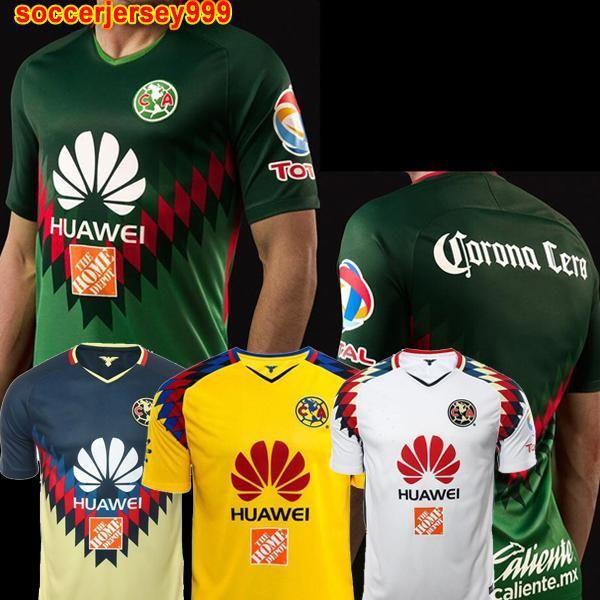 db82b7a39 O. PERALTA #24 America Soccer Jersey 2017 2018 Liga MX Mexico ...