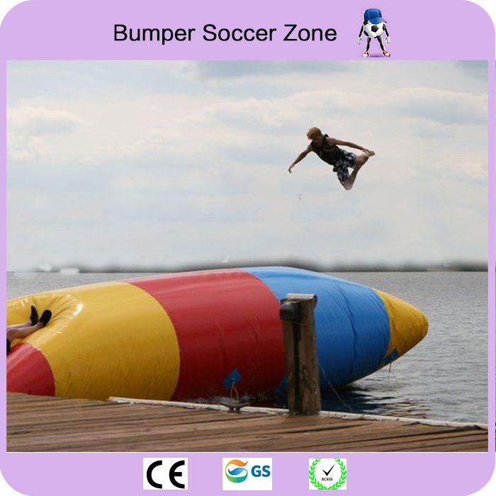 10*3m Inflatable Jumping Pillow Water Blob Jump Pillow Water Trampoline Inflatable Water Blob With a Pump