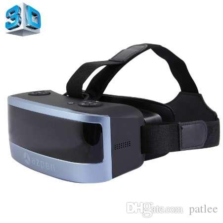 WIFI Bluetooh 3D VR Glass Virtual Reality Box Android 4.4 Allwinner Quad Core 2GB+16GB 3D Glasses Headset 5.5'' 1920*1080 Screen