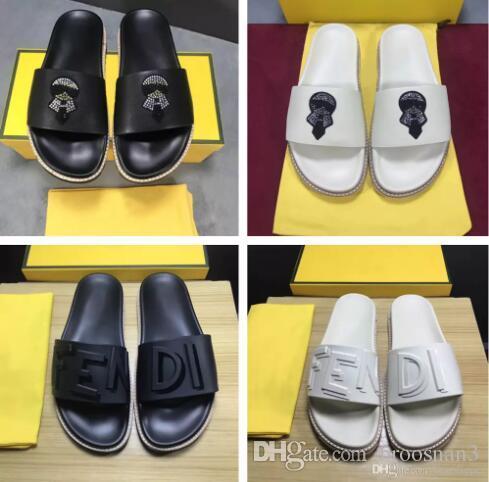2a5b4ed0604 High Quality Luxury Brand Designer Slippers Fashion Beach Slipper ...