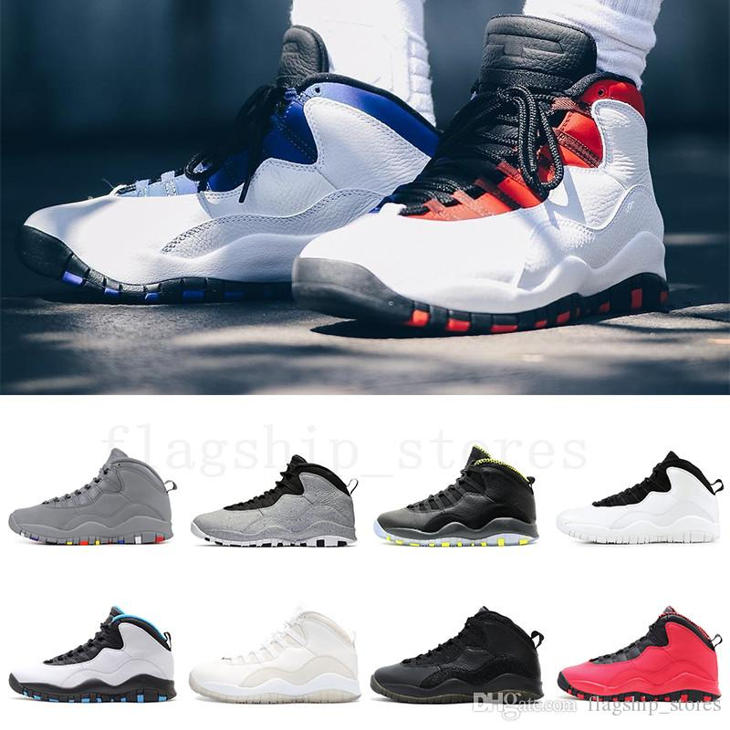 ed6a13ce410 10 10s Tinker Cement Westbrook Class Of 2006 Men Basketball Shoes White  Black Steel Grey Chicago Powder Blue Sports Trainer Sneakers Us 8 13 Shoes  Men ...