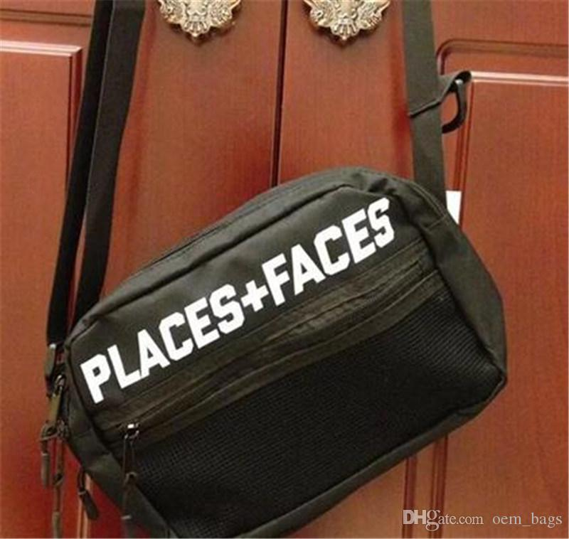 16f823e14d0f Brand Places+Faces 3M Reflective Skateboards Bag P+F Messenger Bags Casual  Men And Women Hip Hop Shoulder Bag Mini Mobile Phone Packs Messenger Bags  For Men ...