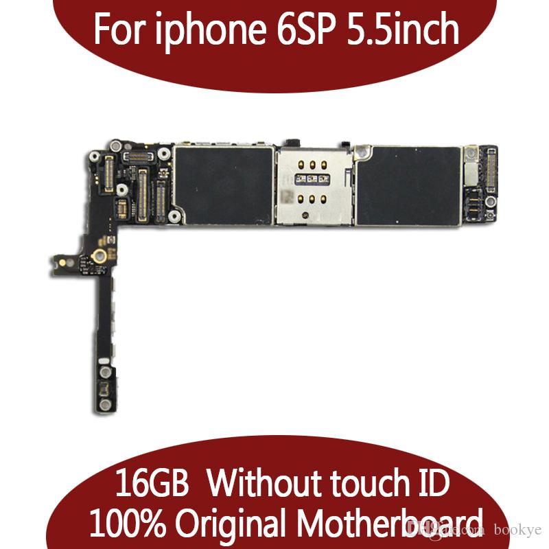 beece792837 Usb Cables Para IPhone 6S Plus Placa Madre De 5.5 Pulgadas 16 GB 64 GB  Fichas Completas Placa Frontal Desbloqueada IOS Original Sin Touch ID  Tablero Lógico ...