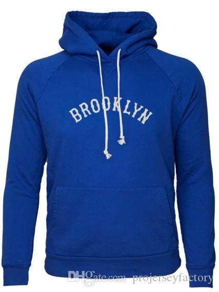 9ed5a3274 Brooklyn Tip-Tops Hooded Sweatshirt City Series Hooded Sweatshirts For Mnes  Womens Youth Blue Baseball Jersey Custom Any Name   Any Number Brooklyn  Tip-Tops ...