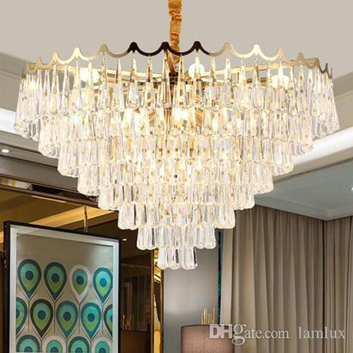 New postmodern personality simplicity led crystal chandelier lights new postmodern personality simplicity led crystal chandelier lights compound staircase long chandelier lighting for living room dining room multi coloured aloadofball Image collections