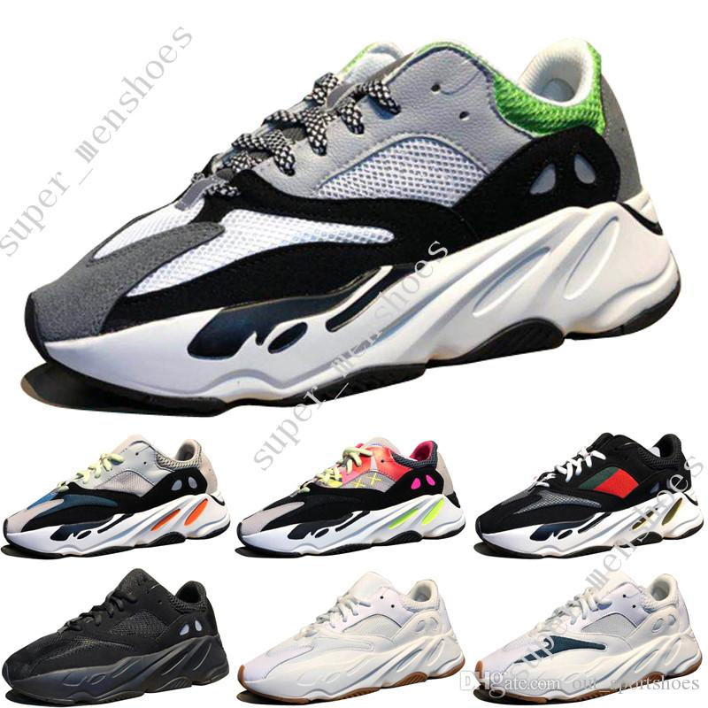 326def25e8162 2019 2018 New Kanye West Wave Runner 700 Boots Grey Running Shoes For Men  700s Womens Mens Sports Sneakers Trainers Outdoor Designer Causal Shoes  From ...
