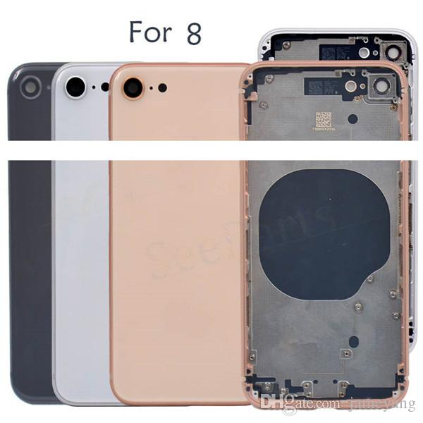 b084e6b7e 2019 AAA Quality Back Cover Housing For IPhone 8 8g 8 Plus Back Battery Door+Middle  Frame+Sim Tray+Side Buttons Cover Replacement From Jameyang