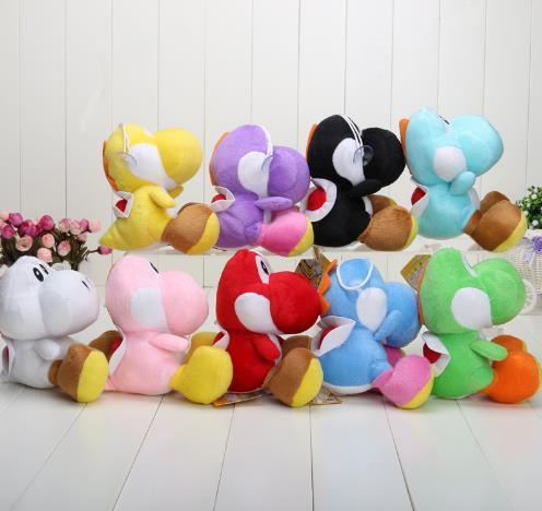 17CM Super Mario Bros Yoshi Plush Stuffed toys Dolls Mario Plush Toys Stuffed Animals & Toys
