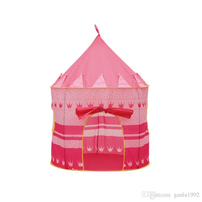 Mongolian Yurts Game House Prince Princess High Quality Toy Tent For Children Indoor Creeping Houses Games Castle 33ly W