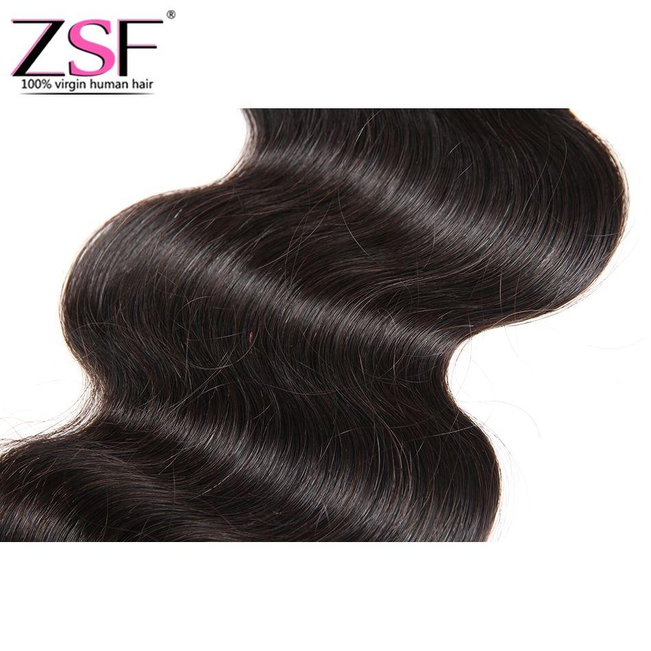 ZSF Best Price Hot Selling Brazilian Body Wave Hair 4*4 Closure Hair Extension Brazilian Virgin Human Hair Closure