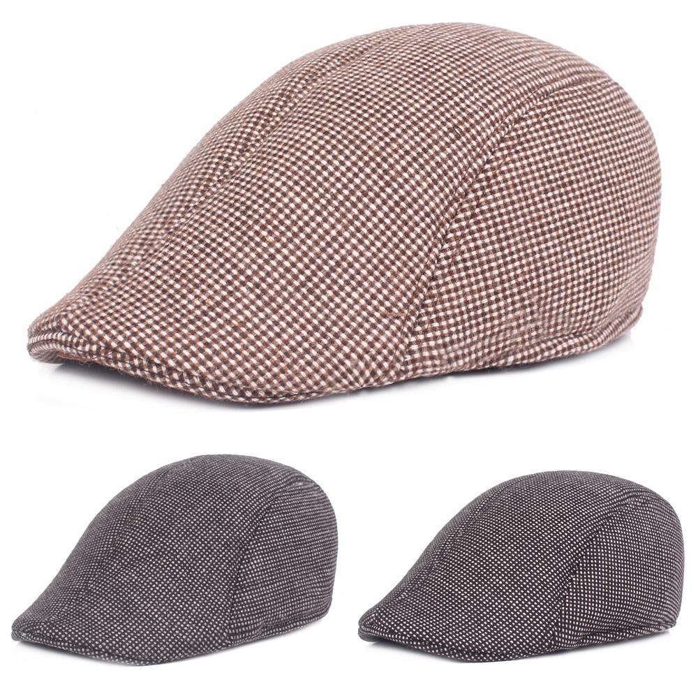 2019 Mens Vintage Warm Cotton Driving Golf Cap Casual Outdoor Sun Newsboy  Beret Hat HATCS0329 From Haydena 5b84e4242b5
