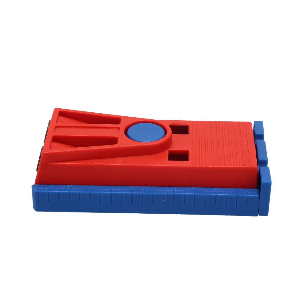 Plástico Oblíquo Buraco Jig Kit Ferramenta De Perfuração com 9.5mm Puncher e Cor Aleatória Plugue Ferramentas Manuais Definir Ferramenta Para Trabalhar Madeira