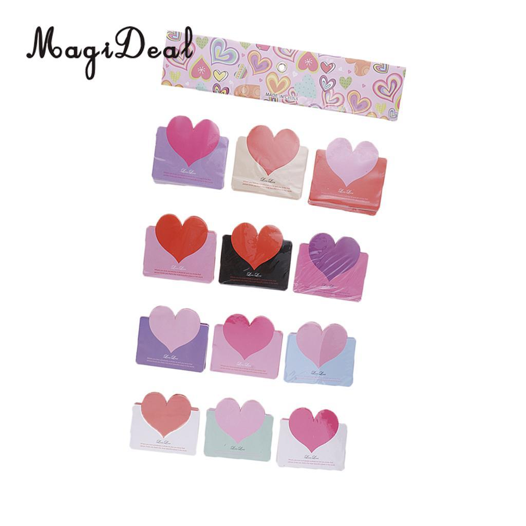 Heart Wish Message Card With 15 Different Designs Wedding Birthday Christmas Festival Gift Decoration 50th Invitations Affordable
